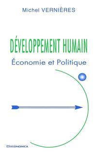 Développement humain : économie et politique