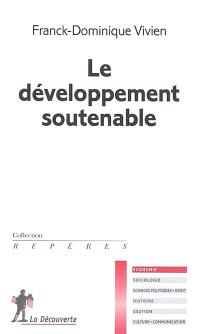 Le développement soutenable