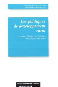 Les politiques de développement rural : rapport de l'instance d'évaluation présidée par Daniel Perrin