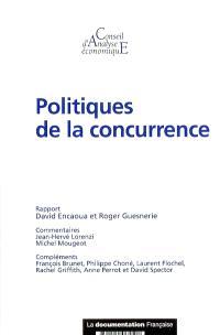 Politiques de la concurrence