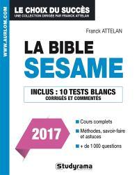 La bible du concours Sésame 2017