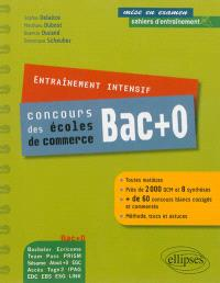 Entraînement intensif, concours des écoles de commerce bac +0 : Bachelor Ecricome, Team, Pass...