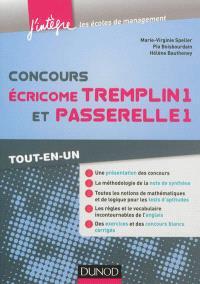 Concours Ecricome Tremplin 1 et Passerelle 1 : tout-en-un