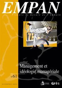 Empan. n° 61, Management et idéologie managériale