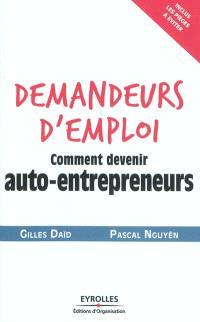 Demandeurs d'emploi : comment devenir auto-entrepreneurs