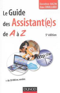 Le guide des assistant(e)s de A à Z