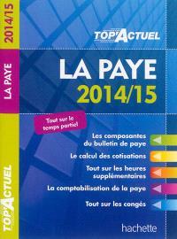 La paye : 2014-15