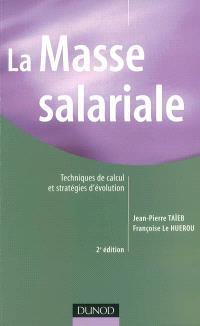 La masse salariale : techniques de calcul et stratégies d'évolution
