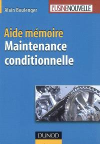 Aide-mémoire maintenance conditionnelle