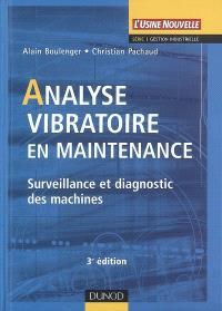 Analyse vibratoire en maintenance : surveillance et diagnostic des machines