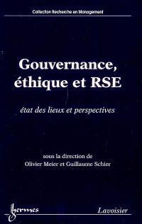 Gouvernance, éthique et RSE : état des lieux et perspectives