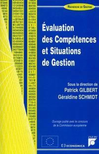 Evaluation des compétences et situations de gestion
