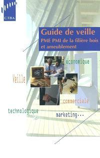 Guide de veille : PME PMI de la filière bois et ameublement
