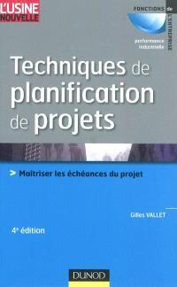 Techniques de planification de projets : maîtriser les échéances du projet