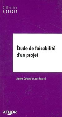 Etude de faisabilité d'un projet