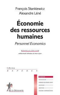 Economie des ressources humaines = Personnel economics