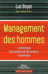 Management des hommes : historique, grands acteurs et auteurs, méthodes, outils, perspective
