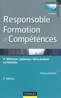 Responsable formation et compétences : maîtriser, optimiser et faire évoluer sa fonction