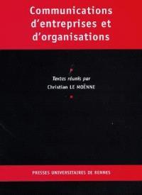 Communications d'entreprises et d'organisations