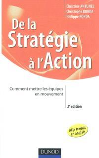 De la stratégie à l'action : comment mettre les équipes en mouvement
