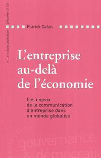 L'entreprise au-delà de l'économie : les enjeux de la communication d'entreprise dans un monde globalisé