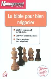 La bible pour bien négocier