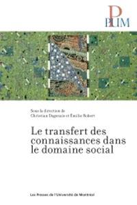 Le transfert des connaissances dans le domaine social  : état de la question et pistes de recherche prioritaires