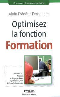 Optimisez la fonction formation