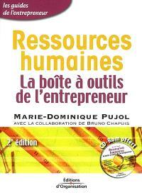 Ressources humaines : la boîte à outils de l'entrepreneur
