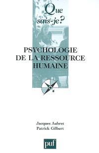 Psychologie de la ressource humaine