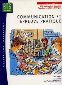 Communication et épreuve pratique : BTS assistant de direction, assistant secrétaire trilingue
