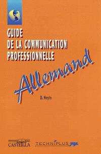 Guide de la communication professionnelle : allemand