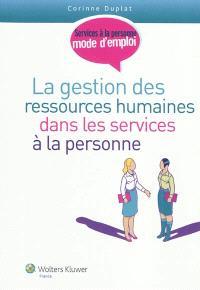 La gestion des ressources humaines dans les services à la personne