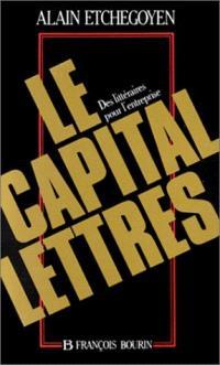 Le Capital lettres : des littéraires pour l'entreprise