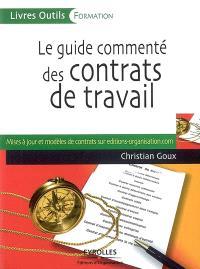 Le guide commenté des contrats de travail