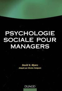 Psychologie sociale pour managers
