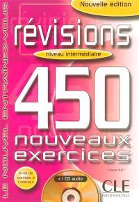 Conjugaison, niveau intermédiaire : 450 nouveaux exercices