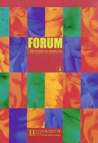 Forum, niveau 3 : méthode de français