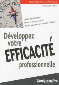 Développez votre efficacité professionnelle