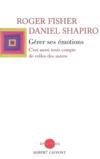 Gérer ses émotions : c'est aussi tenir compte de celles des autres