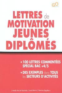 Lettres de motivation jeunes diplômés