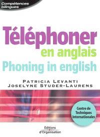 Téléphoner en anglais = Phoning in english