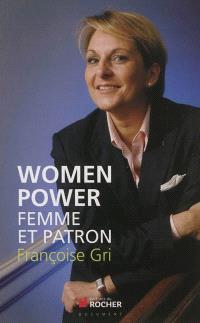 Women power : femme et patron !