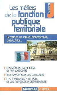 Les métiers de la fonction publique territoriale : secrétaire de mairie, bibliothécaire, puéricultrice...