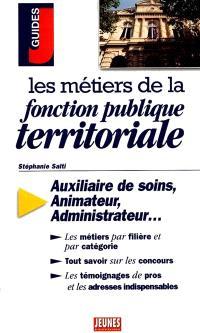 Les métiers de la fonction publique territoriale