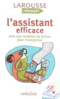 L'assistant efficace : avec 250 modèles de lettres pour l'entreprise