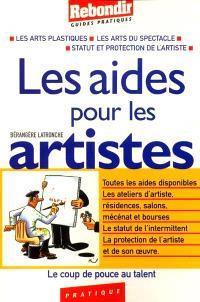 Les aides pour les artistes