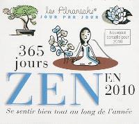 365 jours zen en 2010 : se sentir bien tout au long de l'année