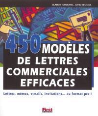 450 modèles de lettres commerciales efficaces