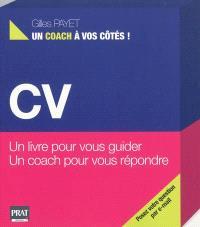 CV : un livre pour vous guider, un coach pour vous répondre